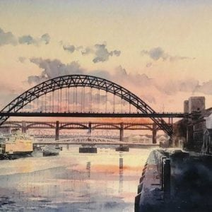 Tyne Bridge Sunset .jpg