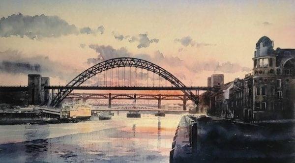 Tyne Bridge Sunset .jpg