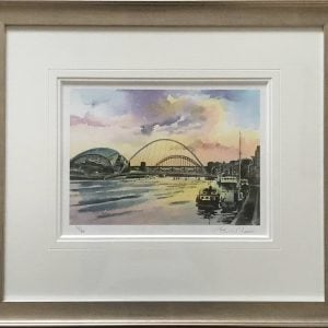 Tyne Bridges, Summer Sunset.jpg