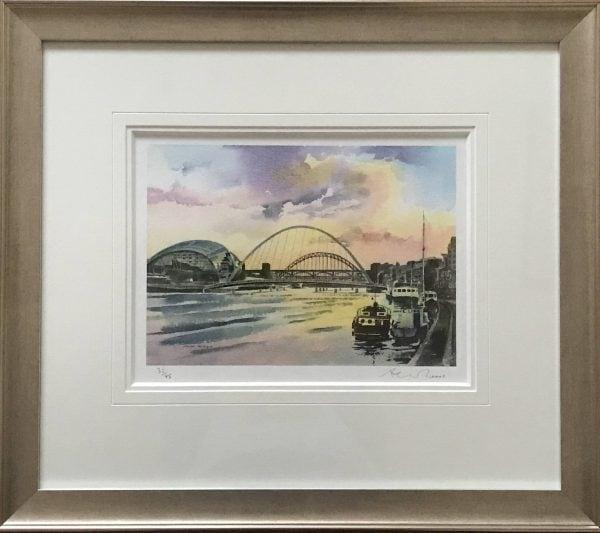 Tyne Bridges, Summer Sunset.jpg