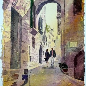 Paintings Montone Umbria