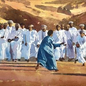 Razah Dancing, Oman