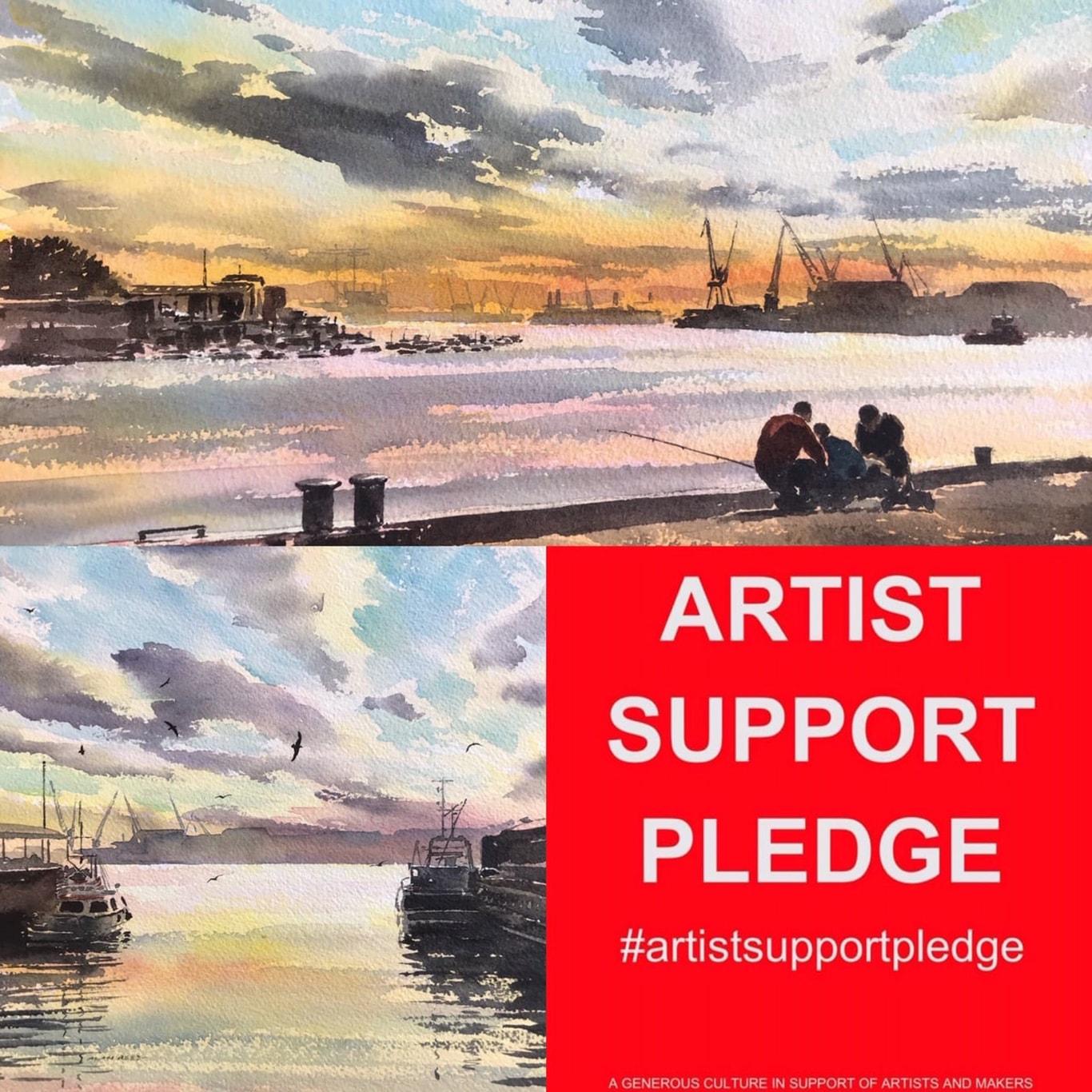 River Tyne Paintings
