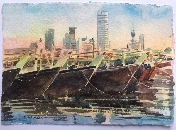 Dhows Paintings for Sale