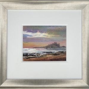 Framed Bamburgh Castle