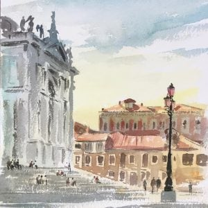 Watercolours of Venice