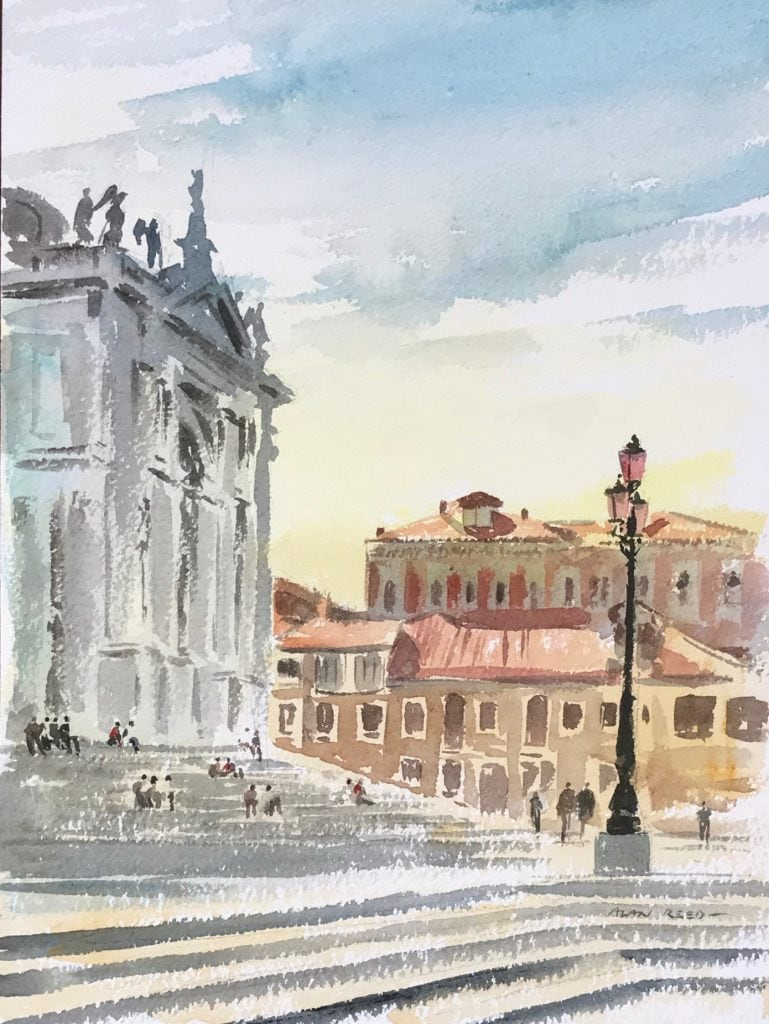 Watercolours of Venice
