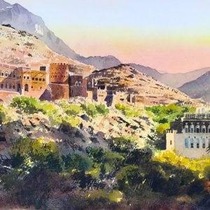 Omani Fort Paintings