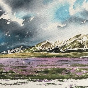 Gran Sasso Painting