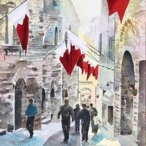 Assisi Original Paintings