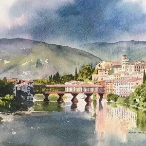 Bassano del Grappa Painting