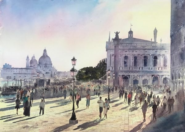 Venice paintings for Sale