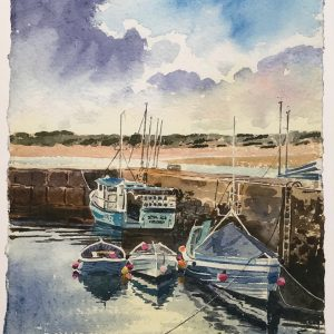 paintings of Beadnell