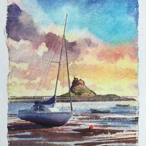 Holy Island Lindisfarne Art
