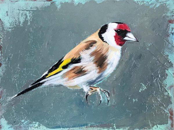 Goldfinch Bird Paintings