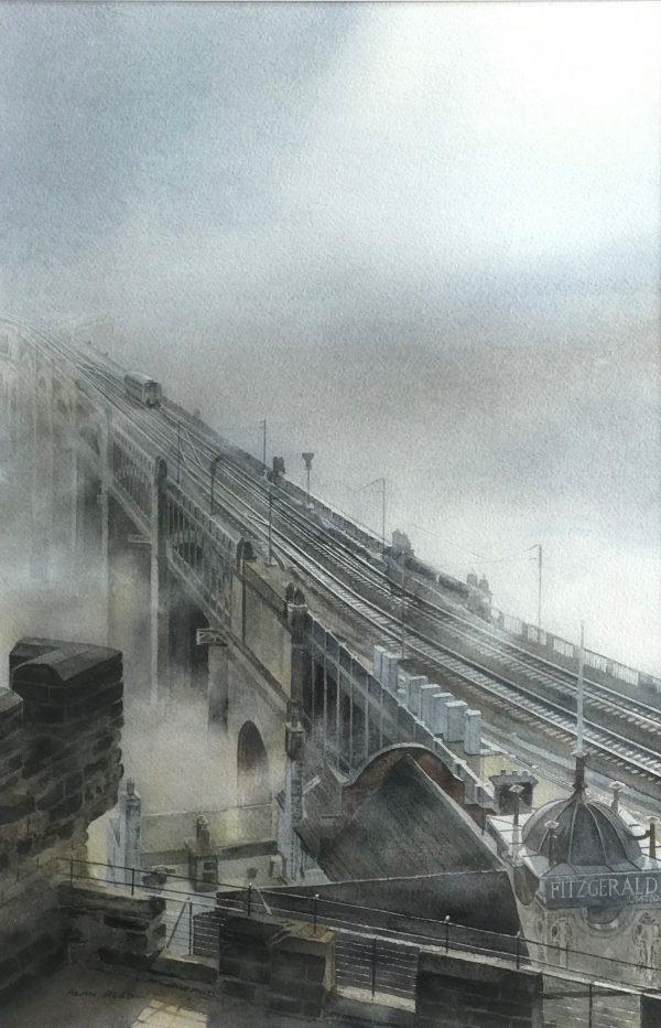 High Level Bridge Painting